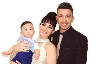 Galatasaray'ın Kalecisi Fernando Muslera'nın Dünyalar Tatlısı Oğlu Kailash Muslera!