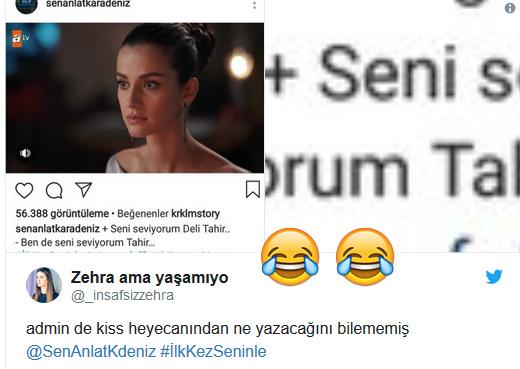 Sen Anlat Karadeniz'in Efsane Aşıkları Nefes ve Tahir'in Beklenen Kiss Sahnesinden Sonra Atılan 15 Eğlenceli Tweet